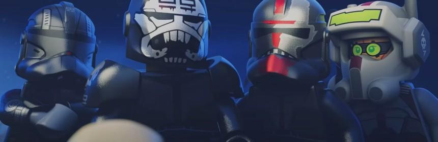 "The Bad Batch in ""The Pumpkin Batch"" LEGO Star Wars Halloween short"